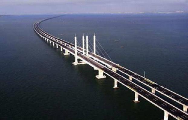 胶州湾大桥地图